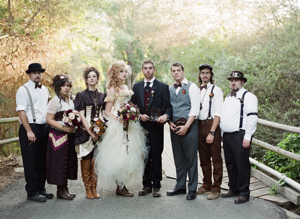 Steampunk Wedding Theme